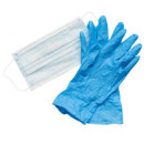Disposable Masks and Exam Gloves